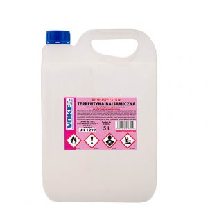 Rozpuszczalnik – terpentyna balsamiczna