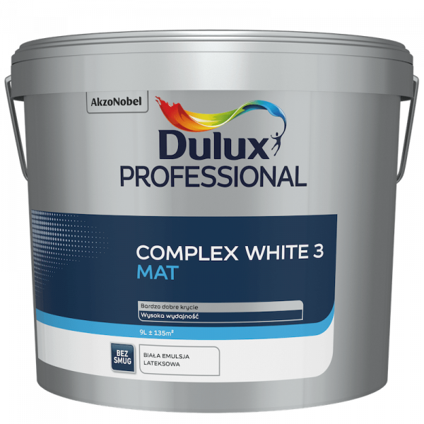 Dulux Professional Complex White 3