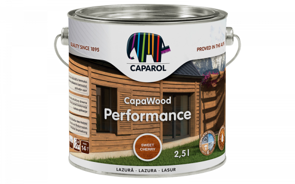 Caparol Lazura do drewna - CapaWood Performance