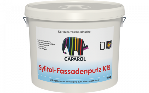 Caparol Sylitol-Fassadenputz R+K
