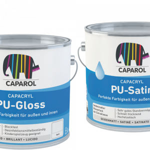Caparol Capacryl PU-Gloss, PU-Satin