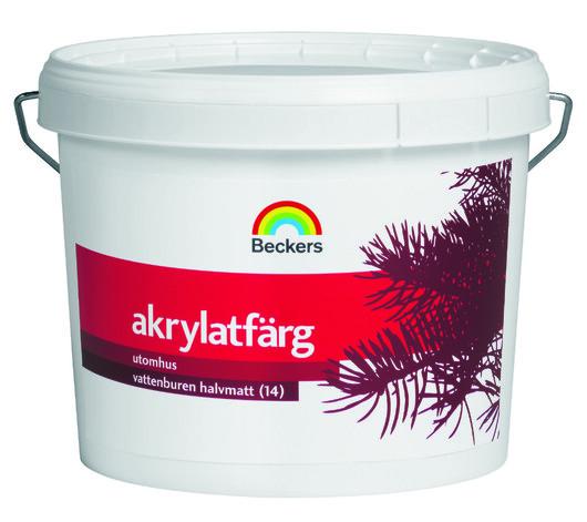 Beckers Akrylatfärg